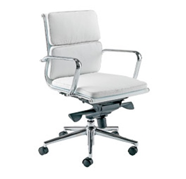 Meeting Chair On Glides Or Castors Executive Chair